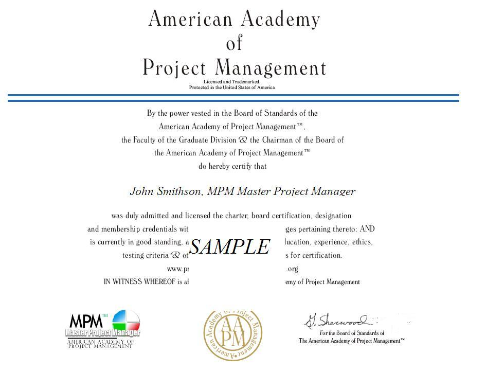 Project management association membership benefits aapm american aapm american academy of project management yadclub Choice Image