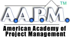 AAPM American Academy of Project Management  Project Management Certification Training for Project Managers Logo